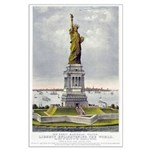 Statue of Liberty-1885 Large Poster