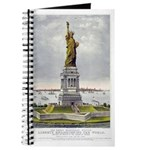 Statue of Liberty-1885 Journal