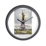 Statue of Liberty-1885 Wall Clock