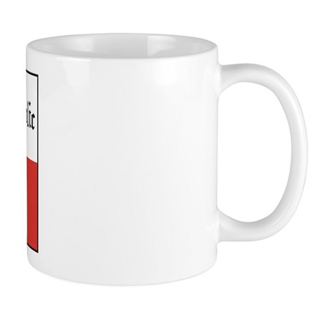 Czech Flag / Czech Republic Mug