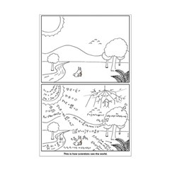 World View Mini Poster Print