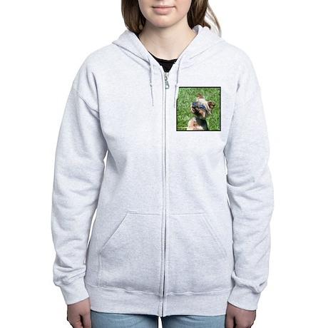 Yorkshire Terrier Women's Zip Hoodie