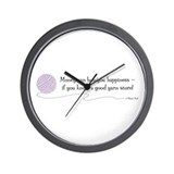 &quot;A Good Yarn Store&quot; - Wall Clock