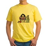 I love crafting penguin Yellow T-Shirt