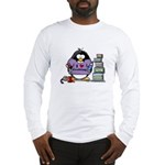 I love crafting penguin Long Sleeve T-Shirt