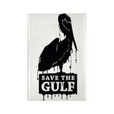 Save the Gulf Rectangle Magnet