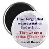 "Reagan Quote 2.25"" Magnet (100 pack)"