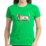 Life is better with a Basset Hound Tee