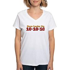Born Lucky 10-10-10 Shirt