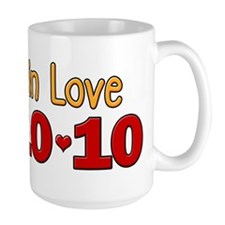 10-10-10 Lucky In Love Mug