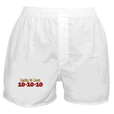 10-10-10 Lucky In Love Boxer Shorts