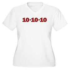 10-10-10 Hearts T-Shirt