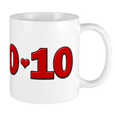 10-10-10 Hearts Mug