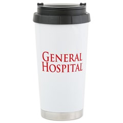 GH Red Stacked Ceramic Travel Mug