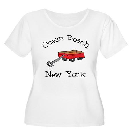 Ocean Beach Fire Island Women's Plus Size Scoop Ne