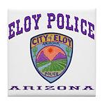 Eloy Police Tile Coaster