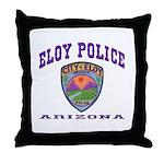 Eloy Police Throw Pillow