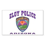 Eloy Police Sticker (Rectangle)