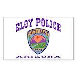 Eloy Police Sticker (Rectangle 50 pk)