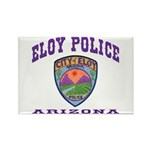 Eloy Police Rectangle Magnet