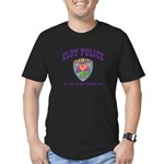 Eloy Police Men's Fitted T-Shirt (dark)
