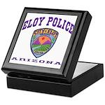 Eloy Police Keepsake Box