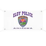 Eloy Police Banner