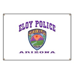 Eloy Police Banner