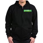 Stop Government Waste Zip Hoodie (dark)