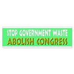 Stop Government Waste Sticker (Bumper 10 pk)