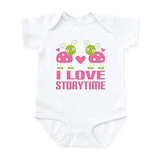 Ladybug Storytime Infant Bodysuit
