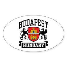 Budapest Hungary Decal