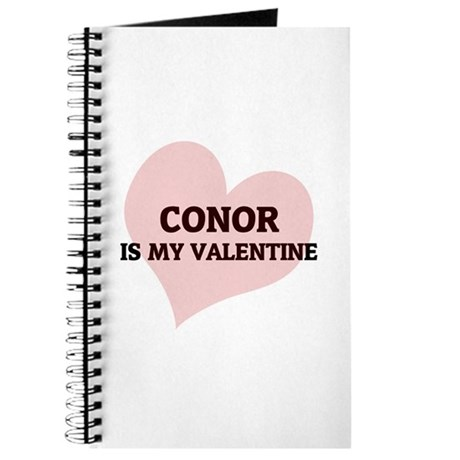 Conor Is My Valentine Journal