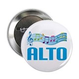 "Colorful Music Alto 2.25"" Button"