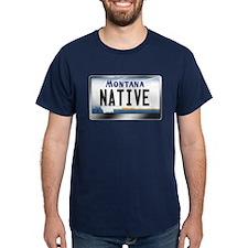 Montana License Plate - [NATIVE] T-Shirt