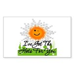 Hots For You Sticker (Rectangle 50 pk)