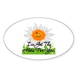 Hots For You Sticker (Oval 10 pk)