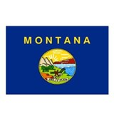 Montanan Flag Postcards (Package of 8)