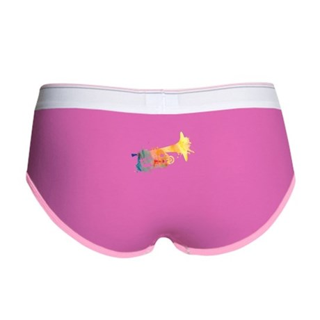Paint Splat Mellophone Women's Boy Brief