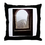 Tower Window Throw Pillow
