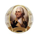 "George Washington Portrait 3.5"" Button (100 pack)"