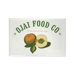 Ojai Food Co Rectangle Magnet