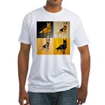 Shepherd Squares Fitted T-Shirt