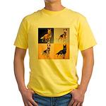 Shepherd Squares Yellow T-Shirt