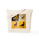 Shepherd Squares Tote Bag