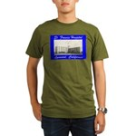Saint Francis Hospital Organic Men's T-Shirt (dark