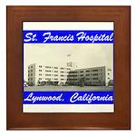 Saint Francis Hospital Framed Tile