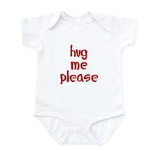 hug me please Infant Bodysuit