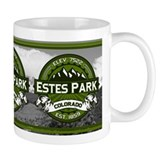 Estes Park Olive Mug