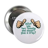 Two Thumbs 2.25&amp;quot; Button